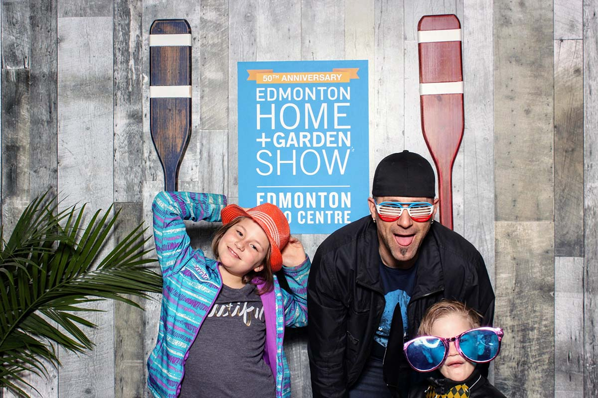 B-Roll Photo Booth at Edmonton Home and Garden Show